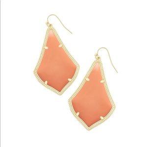 Kendra Scott coral earrings